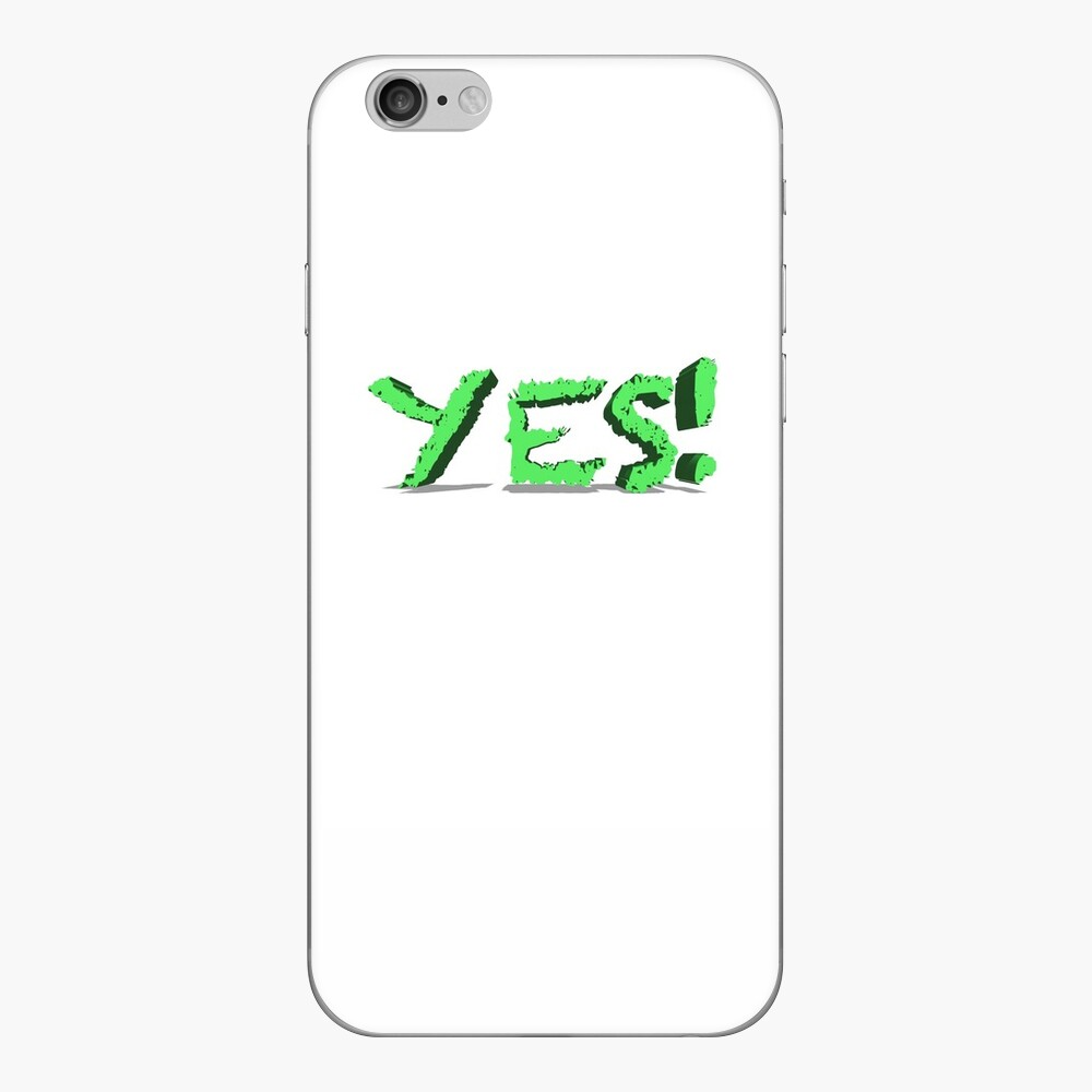 Yes Simple Yes iPhone Skin