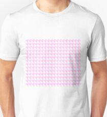 Light Pink Watercolor Heart Pattern  T-Shirt