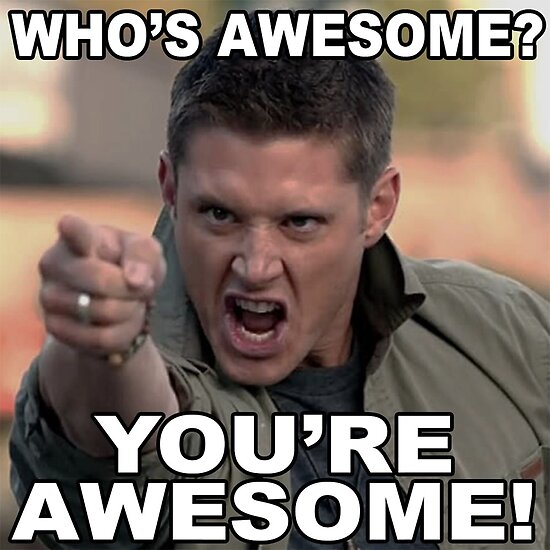 you re awesome posters by mariatorg redbubble