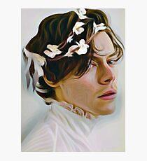 Harry Flower Crown  Photographic Print