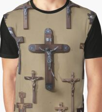 Wall of Crucifixes Graphic T-Shirt