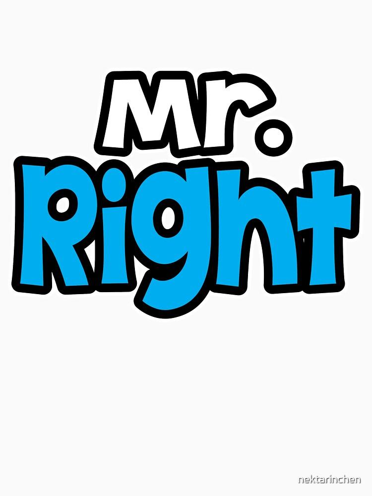 Mr. Right by nektarinchen
