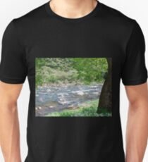 Tree by the river Unisex T-Shirt