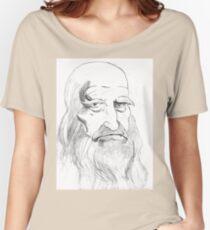 Camiseta ancha para mujer Leonardo da Vinci