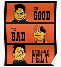 Angel - The Good, the bad, and the made of felt Poster