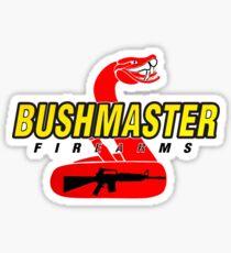 Bushmaster Firearms Snake Logo Sticker