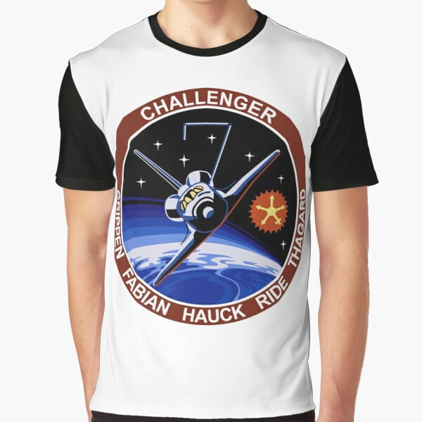Space Shuttle Challenger (STS-7) Graphic T-Shirt