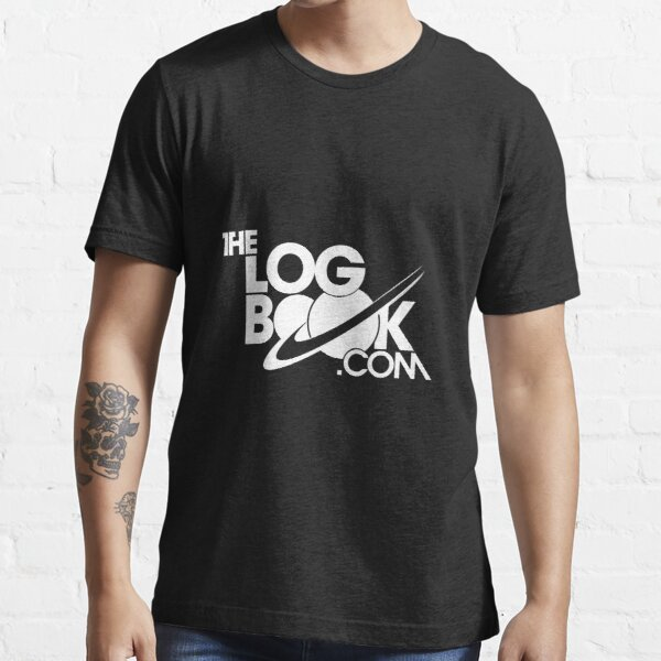 theLogBook.com New Logo in white Essential T-Shirt