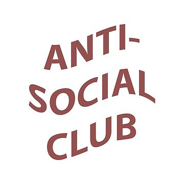 ANIT-SOCIAL CLUB by glowingapparel