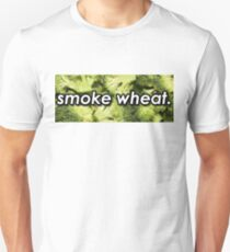 Smoke Wheat. Unisex T-Shirt
