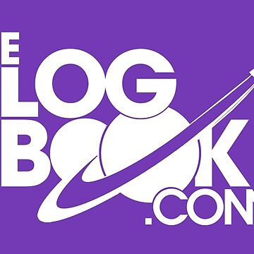 theLogBook.com New Logo in white - Apollo by thelogbook