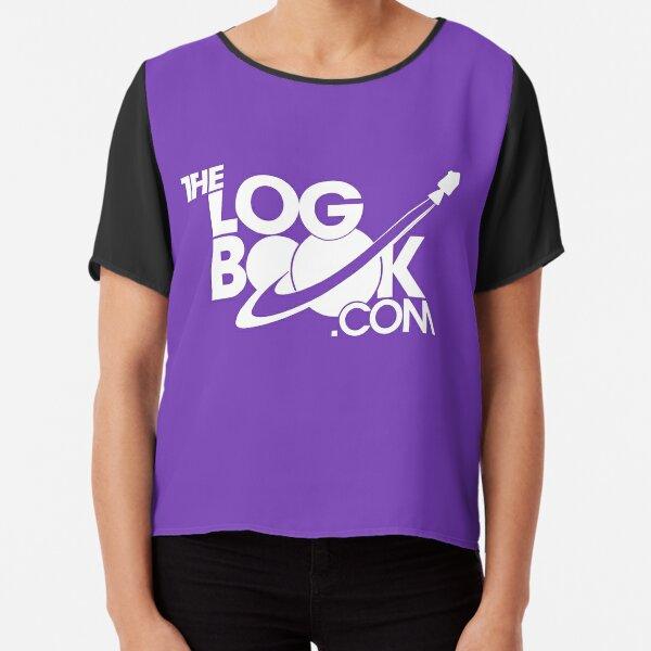 theLogBook.com New Logo in white - Apollo Chiffon Top