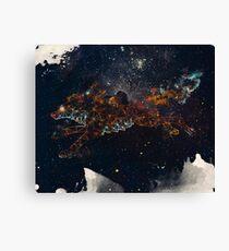 Celestial Wolf Canvas Print