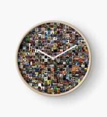 Homage To Golden Age Hip Hop Clock