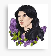 Lilac and Gooseberries Canvas Print