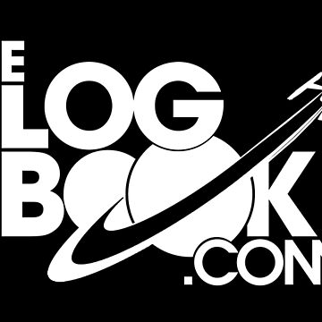 theLogBook.com New Logo in white - warp-capable by thelogbook