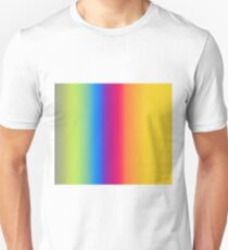 Ombre Bright Colors 1 Reversed T-Shirt