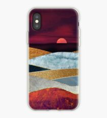 Crimson Sky iPhone Case