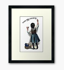 A Day Without a Woman Framed Print