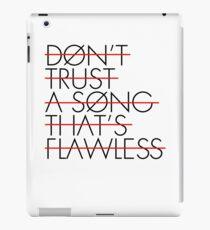FLAWLESS SONG iPad Case/Skin