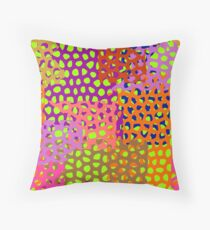 Abstract texture of grids  Throw Pillow