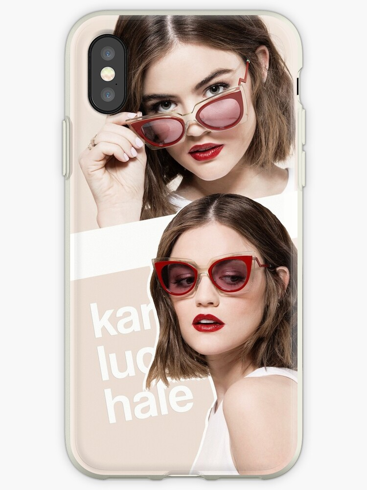 buy popular a7814 9a1c3 'Lucy Hale' iPhone Case by dom e.