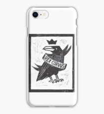 Raven King iPhone Case/Skin