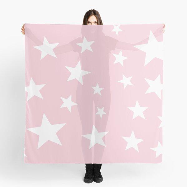 Sunrise Stars soft pink Scarf
