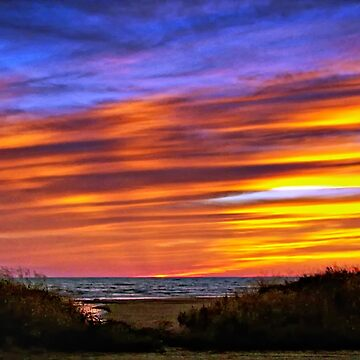 Sauble Beach Sunset by steveharrington