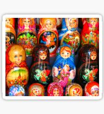 Valley of the Russian Nesting Dolls Sticker