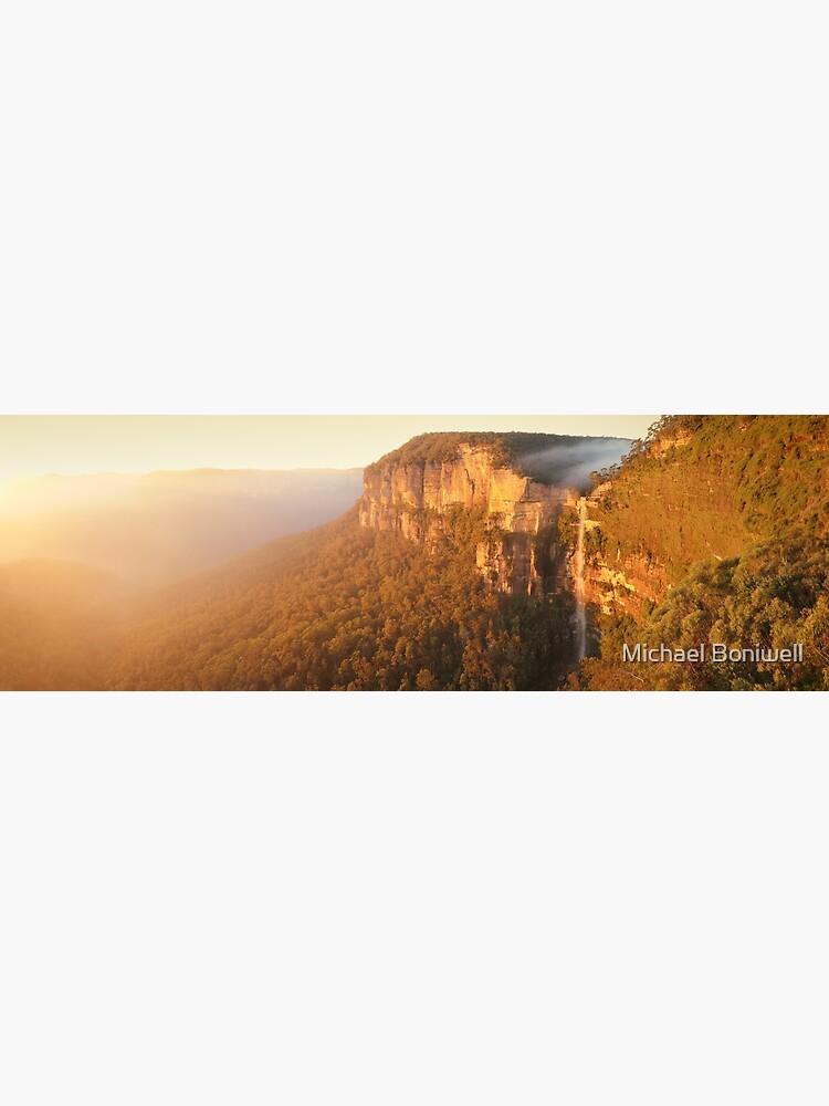 Bridal Veil Falls, Blue Mountains, New South Wales, Australia by Chockstone