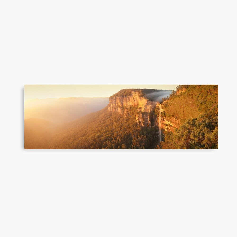 Bridal Veil Falls, Blue Mountains, New South Wales, Australia Canvas Print