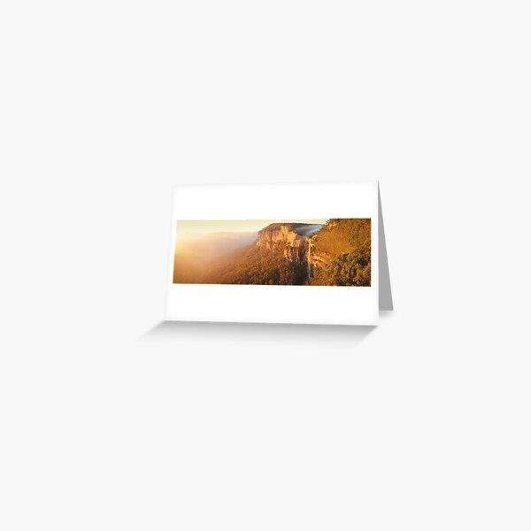 Bridal Veil Falls, Blue Mountains, New South Wales, Australia Greeting Card