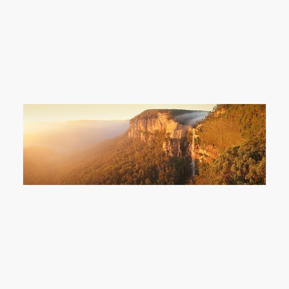 Bridal Veil Falls, Blue Mountains, New South Wales, Australia Photographic Print