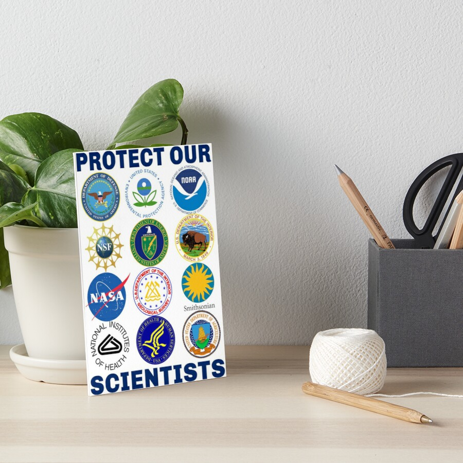 Protect Our Scientists Science March Pro-Science Environmentalism Climate Change Resist Anti-Trump by lovenotdivision