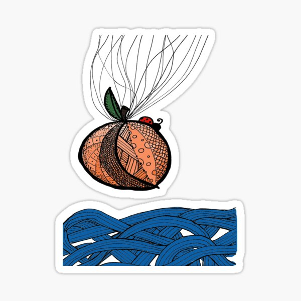 Fly With Me Sticker