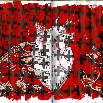 Crossed Heart by SkyeRiseley
