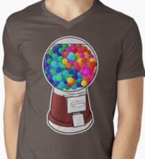 Yin Yang Gumballs Mens V-Neck T-Shirt