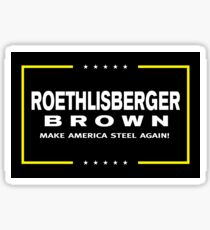 Make America Steel Again Sticker