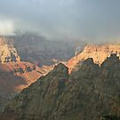clouds in canyon by coopphoto