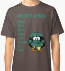 Anesthesia Alphabet Classic T-Shirt