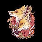 Red Fox Bloom by Kellie Lamphere