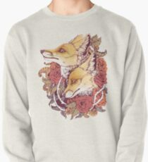 Red Fox Bloom Pullover