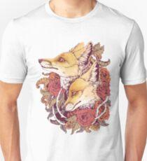 Red Fox Bloom Unisex T-Shirt
