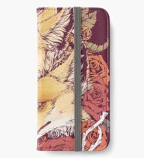 Red Fox Bloom iPhone Wallet/Case/Skin