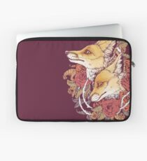 Red Fox Bloom Laptop Sleeve