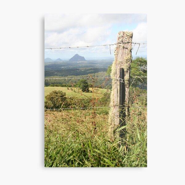 The Fence Metal Print