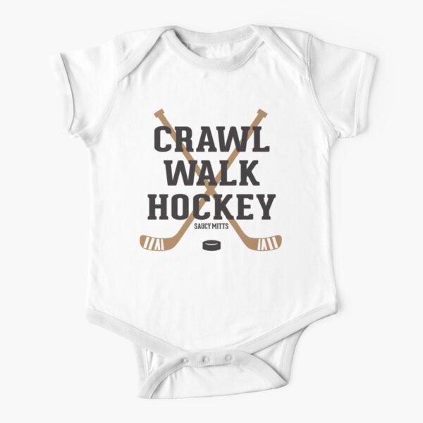 Hockey Baby Crawl Walk Hockey Short Sleeve Baby One-Piece