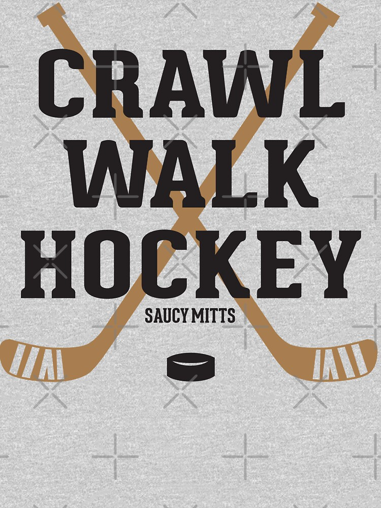 Hockey Baby Crawl Walk Hockey by SaucyMitts