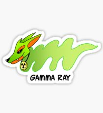 Gamma Ray Sticker
